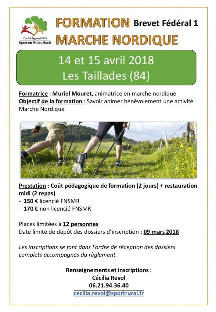 Calendrier Marche Nordique 2020.Calendrier Des Formations Crsmr Paca