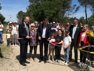 Inauguration Parcours Disc golf
